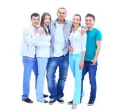 Group young people Royalty Free Stock Photo