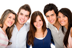 Group of young people Stock Photography