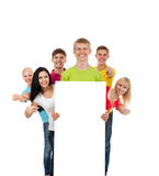 Group of young people Royalty Free Stock Photography