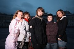 Group young people Royalty Free Stock Image