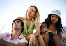 Group of young people Stock Photos