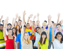 Group young people around world Togetherness Concept Royalty Free Stock Photo
