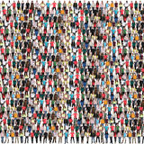 Group of young people background crowd multicultural colorful mu. Lti ethnic persons stock images