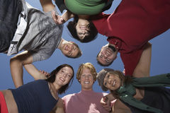 Group Of Young People In Circle Royalty Free Stock Photography