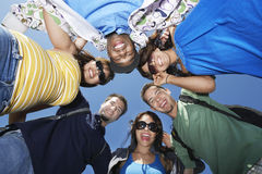 Group Of Young People In Circle Stock Photography