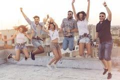 Jumping Stock Image