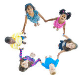 Group of Young People Holding Hands Royalty Free Stock Photography
