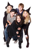 Group young people on party. Royalty Free Stock Photo