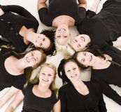 Group of Young Women Royalty Free Stock Images