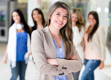 Group of young women Royalty Free Stock Photo