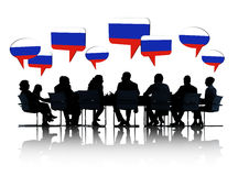 Group Of Yugoslavian Business People Royalty Free Stock Image