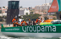 Groupama Sailing Team Volvo Ocean Race Royalty Free Stock Photography