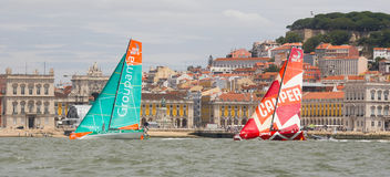Groupama Sailing Team Volvo Ocean Race Royalty Free Stock Photo