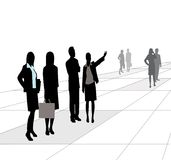 Groupd Of Business People Royalty Free Stock Photography