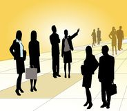 Groupd Of Business People Stock Photos
