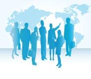Groupd van BedrijfsMensen vector illustratie