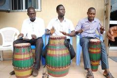 GROUPE AFRICAIN D'ART Photos stock