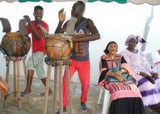GROUPE AFRICAIN D'ART Photographie stock libre de droits