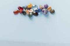 Groupe coloré de gemmes Photos stock
