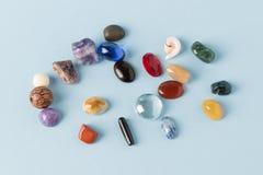 Groupe coloré de gemmes Photographie stock libre de droits