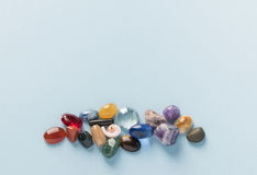 Groupe coloré de gemmes Photos libres de droits