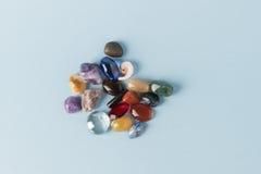 Groupe coloré de gemmes Photo stock