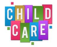 Groupe coloré de rayures de garde d'enfants Photographie stock libre de droits