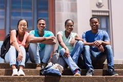 Groupe d'étudiant Photos libres de droits