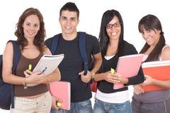 Groupe d'étudiants Photos libres de droits