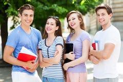 Groupe d'étudiants photographie stock