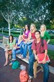 Groupe d'étudiants Photo libre de droits