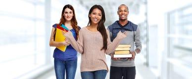 Groupe d'étudiants image libre de droits