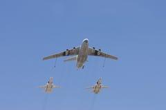 Groupe d'aéronefs Image libre de droits