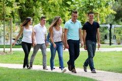 Groupe d'adolescents Image libre de droits