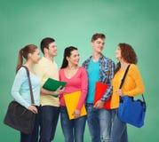Groupe d'adolescents de sourire Images libres de droits