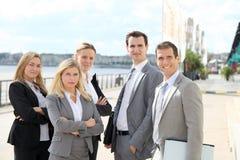 Groupe d'affaires Photos libres de droits