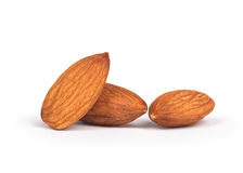 Groupe d'amandes Photo stock