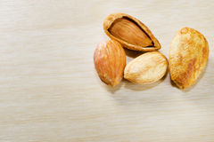 Groupe d'amandes Photographie stock