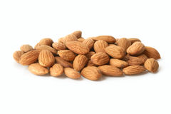 Groupe d'amandes Images stock
