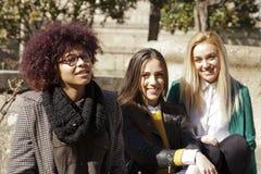 Groupe d'amis de filles Image stock
