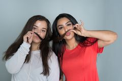 Groupe d'amis féminins Image stock