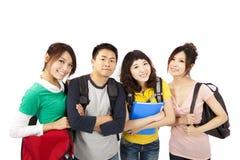 Groupe d'amis heureux Photo libre de droits
