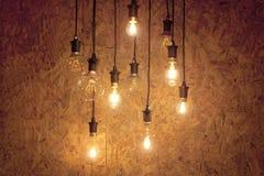Groupe d'ampoules photo libre de droits