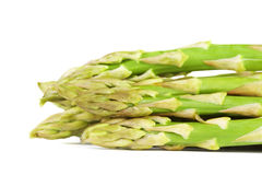 Groupe d'asperge verte Images stock