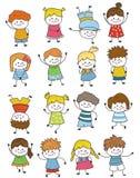 Groupe d'enfants photo libre de droits