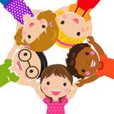 Groupe d'enfants Image stock