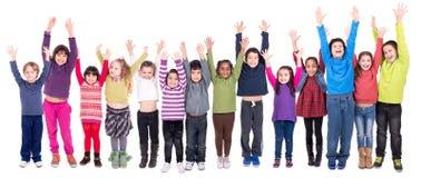 Groupe d'enfants Photos libres de droits