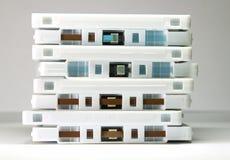 Groupe d'enregistreurs à cassettes Images stock