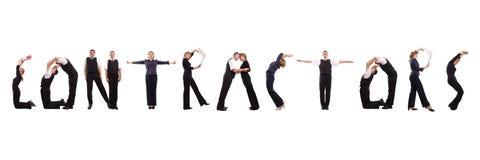 Groupe d'entrepreneurs Image stock