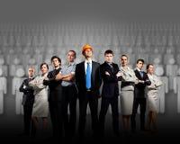 Groupe d'hommes d'affaires Photos stock